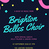 The Brighton Belles Choir and Friends Music Performance