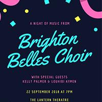 The Brighton Belles Choir and Friends Music Performance